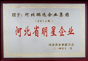 2014年11月河北省明星企业