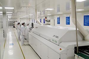 鹏远光电SMT生产线