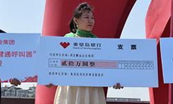 河北鹏远企业集团为秦皇岛市创建全国文明城市捐款20万元